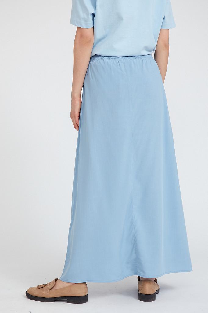 Юбка женская Finn Flare, цвет серо-голубой, размер L - фото 4