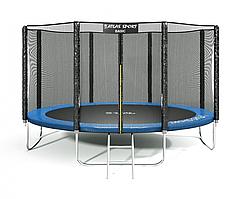 Батут Atlas Sport 404 см (13ft) Basic BLUE до 180 кг