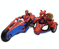 Игровой набор Человек-паук на мотоцикле с фигурками