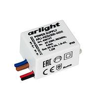 Блок питания ARJ-KE04300-MINI (1.2W, 300mA) (Arlight, IP20 Пластик, 5 лет)