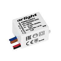 Блок питания ARJ-KE04350-MINI (1.4W, 350mA) (Arlight, IP20 Пластик, 5 лет)