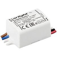 Блок питания ARJ-KE21300 (6W, 300mA) (Arlight, IP44 Пластик, 5 лет)