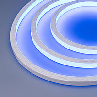 Герметичная лента AQUA-5000S-TOP-2835-120-24V Blue (16.5х16.5mm, 10W, IP68) (arlight, -)