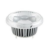 Лампа AR111-FORT-G53-15W-DIM Day4000 (Reflector, 24 deg, драйвер 350mA) (arlight, Металл)