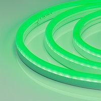 Гибкий неон ARL-CF2835-U15M20-24V Green (26x15mm) (arlight, 8 Вт/м, IP65)