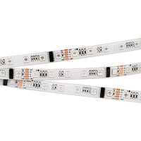 Светодиодная лента DMX-5000SE 24V RGB (5060, 300 LEDx6) (arlight, Закрытый, IP65)