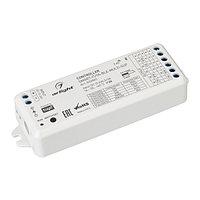 Контроллер SMART-TUYA-BLE-MULTI-SUF (12-24V, 5x3A, RGB-MIX, 2.4G) (arlight, IP20 Пластик, 5 лет)