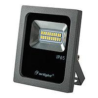 Светодиодный прожектор AR-FLG-FLAT-10W-220V White (arlight, Закрытый)