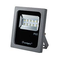 Светодиодный прожектор AR-FLG-FLAT-ARCHITECT-10W-220V White 50x70 deg (arlight, Закрытый)