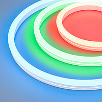 Герметичная лента MOONLIGHT-5000S-SIDE-5060-84-24V RGB (12х24mm, 12W, IP68) (arlight, 12 Вт/м, IP68)
