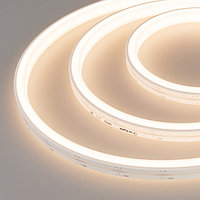 Герметичная лента MOONLIGHT-5000S-U-TOP-2835-156-24V Warm (12х13mm, 11W, IP67) (arlight, 11 Вт/м, IP67)