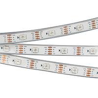Светодиодная лента SPI-5000P-RAM 5V RGB (5060, 150 LED x1, 2813) (arlight, Закрытый, IP66)