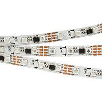 Светодиодная лента SPI-5000-5060-60 12V Cx3 RGB-Auto (10mm, 13.2W/m, IP20) (arlight, Открытый, IP20)