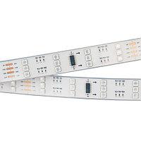 Светодиодная лента SPI-5000P 12V RGB (5060, 480 LED x3,1812) (arlight, Закрытый, IP66)