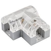 Соединитель угловой ARL-CLEAR-U15-90 (26x15mm) (arlight, Металл)