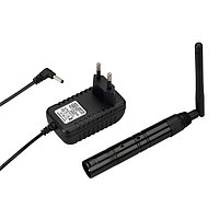 Усилитель SMART-DMX-Transmitter Black (5V, XLR3 Female, 2.4G) (arlight, IP20 Металл, 5 лет)