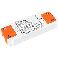 Блок питания ARV-SN12020-FLAT-B (12V, 1.67A, 20W) (Arlight, IP20 Пластик, 3 года)