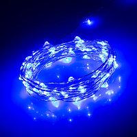 Светодиодная нить WR-5000-1608-100LED Blue (12V, 2.1W) (arlight, IP65)