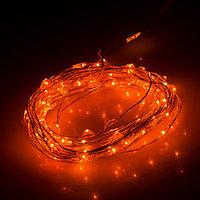Светодиодная нить WR-5000-1608-100LED Amber (12V, 2.1W) (arlight, IP65)