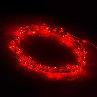 Светодиодная нить WR-5000-12V-Red (1608, 100LED) (arlight, IP65)