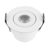 Светодиодный светильник LTM-R52WH 3W Warm White 30deg (arlight, IP40 Металл, 3 года)