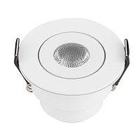 Светодиодный светильник LTM-R52WH 3W Day White 30deg (arlight, IP40 Металл, 3 года)