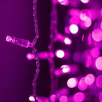 Светодиодная гирлянда ARD-CURTAIN-CLASSIC-2000x1500-CLEAR-360LED Pink (230V, 60W) (Ardecoled, IP65)