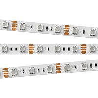 Светодиодная лента RT 2-5000 12V RGB 2x (5060, 300 LED, LUX) (arlight, 14.4 Вт/м, IP20)