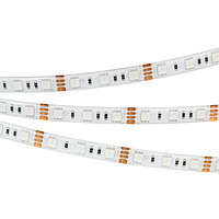 Светодиодная лента RTW 2-5000SE 12V RGB 2x (5060, 300 LED, LUX) (arlight, 14.4 Вт/м, IP65)