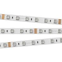 Светодиодная лента RT 2-5000 24V RGB 2x (5060, 300 LED, LUX) (arlight, 14.4 Вт/м, IP20)