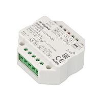 Диммер SMART-D14-DIM-PUSH (230V, 1.5А, 0-10V, 2.4G) (arlight, IP20 Пластик, 5 лет)