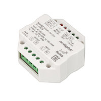 Диммер SMART-D5-DIM-IN (230V, 1A, TRIAC, 2.4G) (arlight, IP20 Пластик, 5 лет)