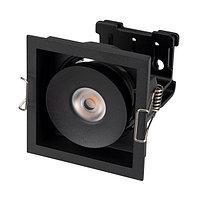 Светильник CL-SIMPLE-S80x80-9W Day4000 (BK, 45 deg) (arlight, IP20 Металл, 3 года)