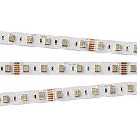 Светодиодная лента RT-B60-12mm 24V RGBW-MIX-5-in-1 (20 W/m, IP20, 5060, 5m) (arlight, Открытый)