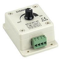 Диммер LN-X-1CH (12/24V, 96/192W) (arlight, IP20 Пластик, 1 год)