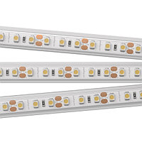 Светодиодная лента RTW 2-5000PS 12V Warm3000 2x (3528, 600 LED, LUX) (arlight, 9.6 Вт/м, IP67)