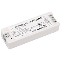 Контроллер SMART-K1-RGB (12-24V, 3x3A, 2.4G) (arlight, IP20 Пластик, 5 лет)