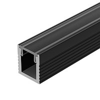 Профиль SL-MINI-8-2000 ANOD BLACK (arlight, Алюминий)
