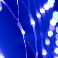 Светодиодная гирлянда ARD-NETLIGHT-HOME-1500x1500-CLEAR-150LED Blue (230V, 12W) (Ardecoled, IP20)