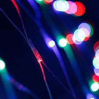 Светодиодная гирлянда ARD-NETLIGHT-HOME-1500x1500-CLEAR-150LED RGB (230V, 12W) (Ardecoled, IP20)