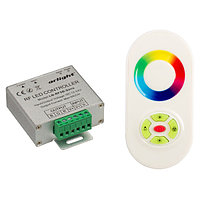 Контроллер LN-RF5B-Sens White (12-24V,180-360W) (arlight, IP20 Металл, 1 год)