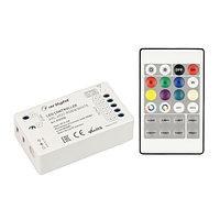Контроллер ARL-4022-RGBW White (5-24V, 4x4A, ПДУ 24кн, RF) (arlight, IP20 Пластик, 3 года)