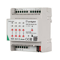 INTELLIGENT ARLIGHT Контроллер штор KNX-704-BLIND-DIN (230V, 4x6A) (INTELLIGENT ARLIGHT, Пластик)