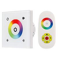 Панель Sens LN-082-RGB White (RF,12-24V, 144-288W) (arlight, IP20 Пластик, 1 год)