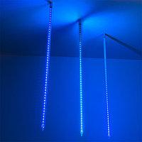 Светодиодная гирлянда ARD-ICEFALL-CLASSIC-D23-1000-CLEAR-96LED-LIVE BLUE (230V, 1.5W) (Ardecoled, IP65)