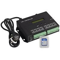 Контроллер HX-803SA DMX (8192 pix, 220V, SD-карта) (arlight, -)