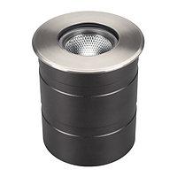 Светильник LTD-GROUND-R110-15W Warm3000 (SL, 20 deg, 230V) (arlight, IP67 Металл, 3 года)