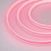 Образец Гибкий неон GALAXY-1608-5000CFS-2835-100 12V Pink 0.5M (16x8mm, 12W, IP67) (arlight, 12 Вт/м, IP67)