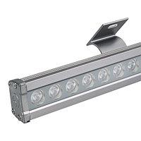 Светодиодный прожектор AR-LINE-1000L-36W-24V RGB (Grey, 30 deg, DMX512) (arlight, Закрытый)