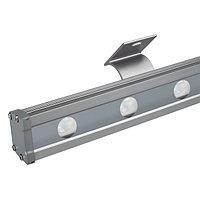 Светодиодный прожектор AR-LINE-1000L-48W-24V RGB-Warm3000 (Grey, 15x45 deg, DMX512) (arlight, Закрытый)